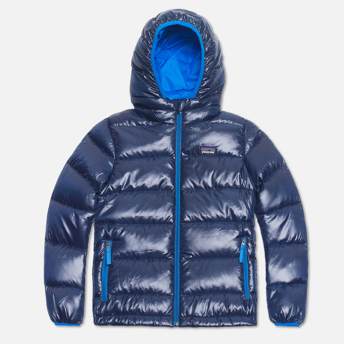 Детская куртка Patagonia Hi-Loft Down Sweater Classic Navy