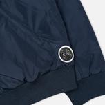 Мужская куртка бомбер Kommon Universe Frequency Bomber Navy фото- 4