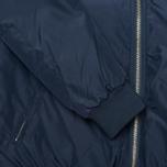 Мужская куртка бомбер Kommon Universe Frequency Bomber Navy фото- 3