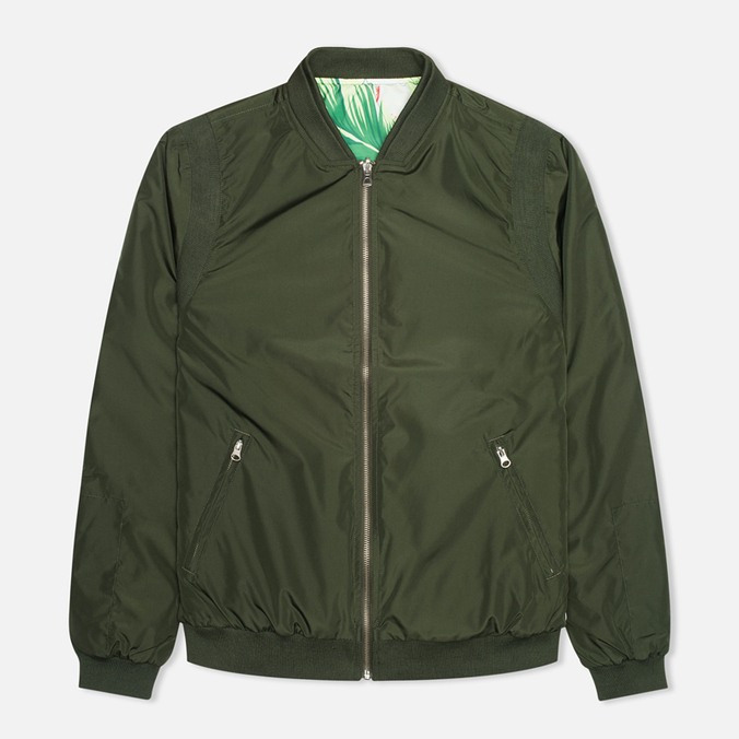 Мужская куртка бомбер Kommon Universe Sphere Bomber Dark Green