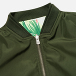 Мужская куртка бомбер Kommon Universe Sphere Bomber Dark Green фото- 2