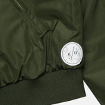 Мужская куртка бомбер Kommon Universe Sphere Bomber Dark Green фото- 7