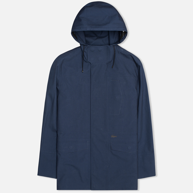 Мужская куртка парка Lacoste Hooded Parka Infinity Blue