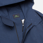 Мужская куртка парка Lacoste Hooded Parka Infinity Blue фото- 2
