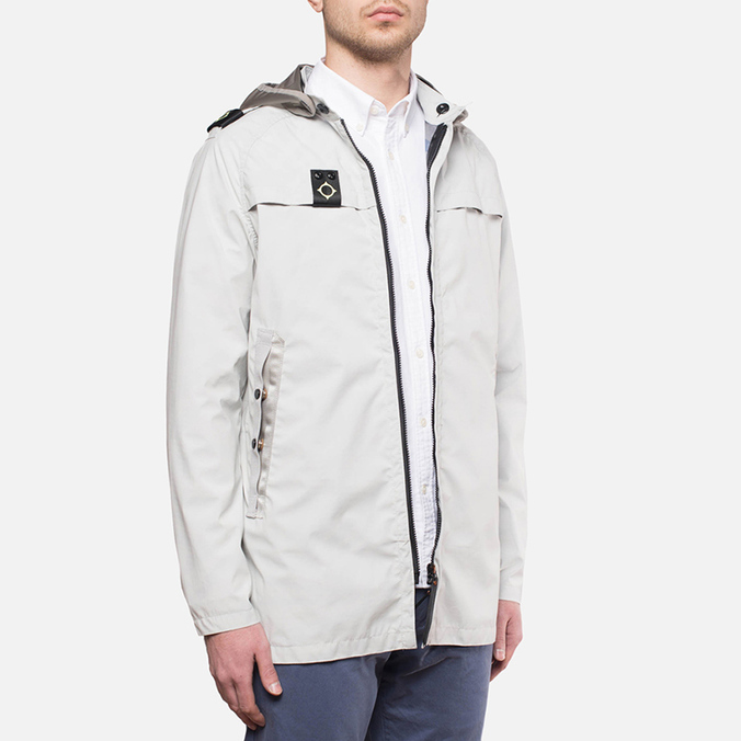 MA.Strum Frost Hooded P-Jacket Merchant White
