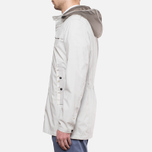 MA.Strum Frost Hooded P-Jacket Merchant White photo- 2