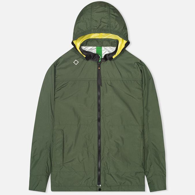 MA.Strum Standard Kit Packable Rain Tunic Jacket Kombu Green