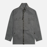 Мужская куртка Maharishi Field Coated Organic Cotton Charcoal фото- 0