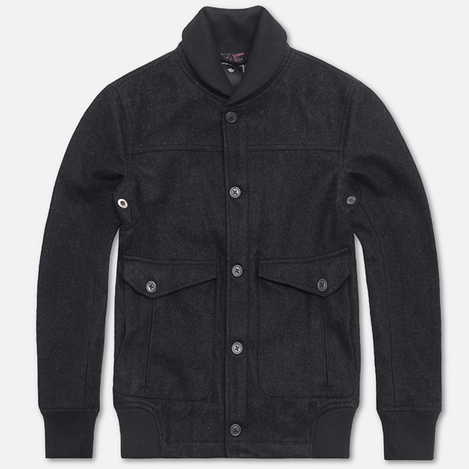 Мужская куртка Maharishi Flight Dark Charcoal