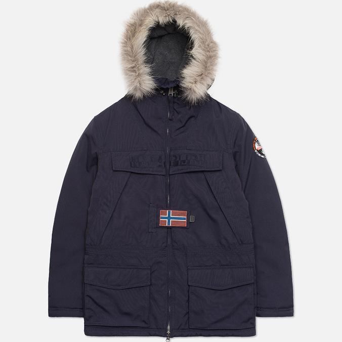 Мужская куртка Napapijri Open Skidoo Blue Marine