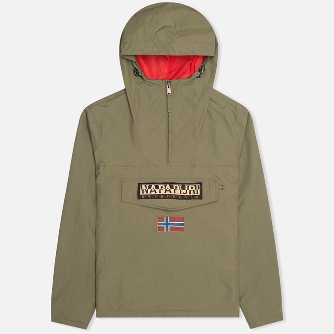 Мужская куртка анорак Napapijri Rainforest Slim Thyme