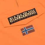 Мужская куртка анорак Napapijri Rainforest Summer Persimmon фото- 3