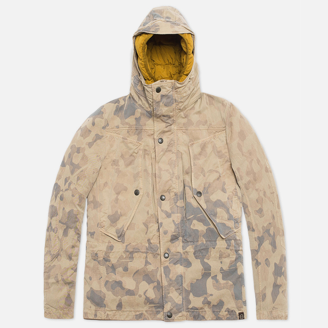 Мужская куртка Nemen Anorak Beige Camo