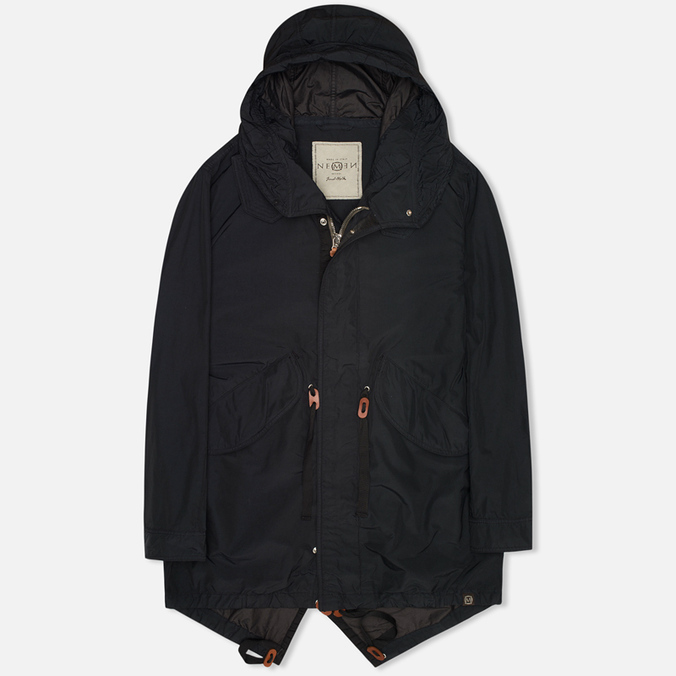 Мужская куртка парка Nemen Fishtail Parka 60/40 Carbone