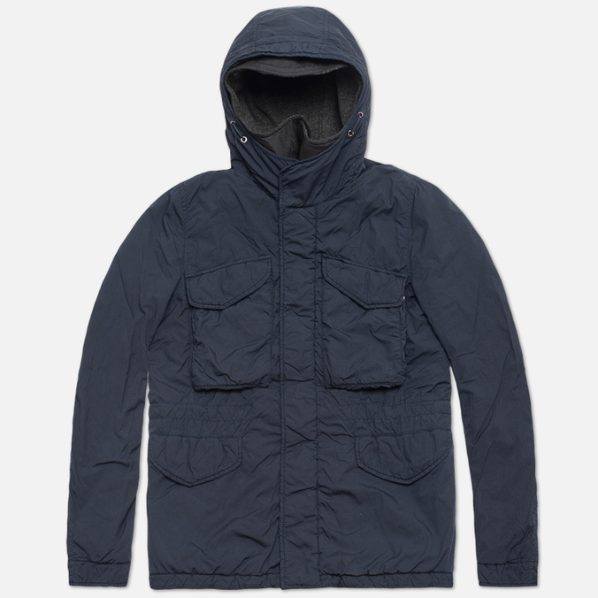 Nemen Hooded Field Jacket Dark Blue