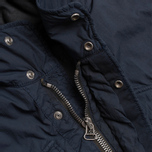 Nemen Hooded Field Jacket Dark Blue photo- 2