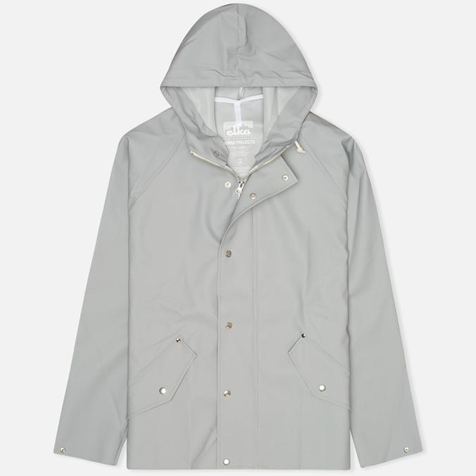 Мужская куртка дождевик Norse Projects x Elka Classic Light Grey
