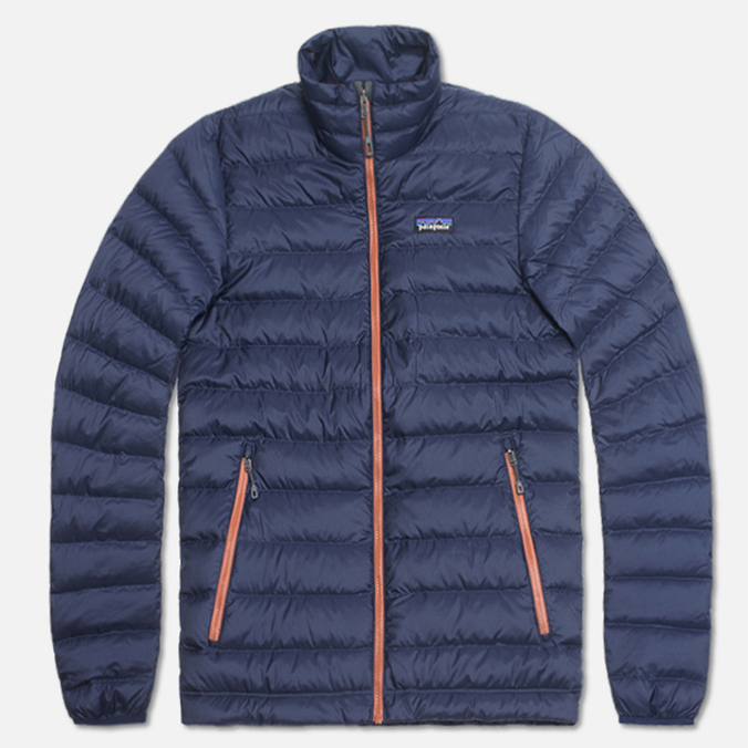 Мужской пуховик Patagonia Down Sweater Classic Navy