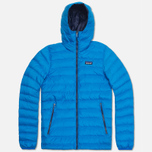 Мужской пуховик Patagonia Down Sweater Hoody Andes Blue фото- 0
