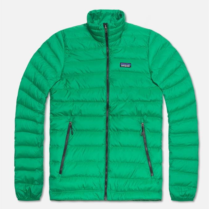 Мужская куртка Patagonia Down Sweater Tumble Green