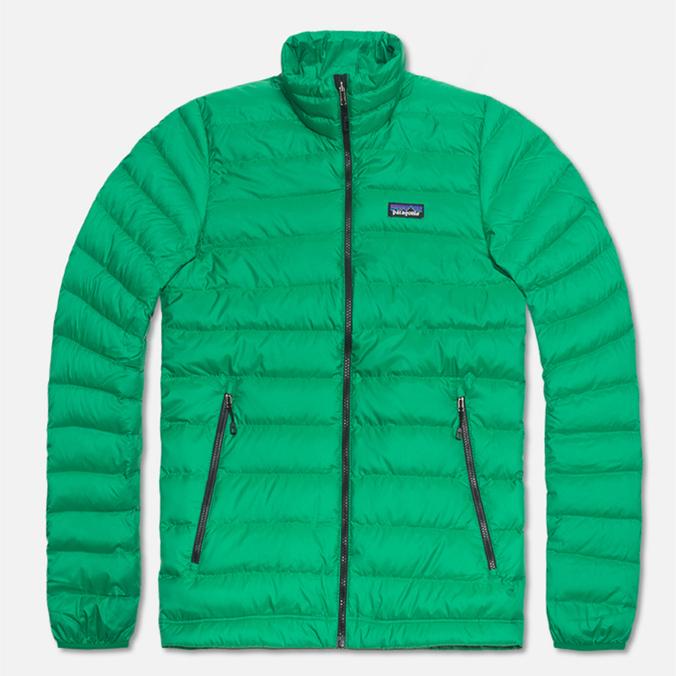 Patagonia Down Sweater Jacket Tumble Green