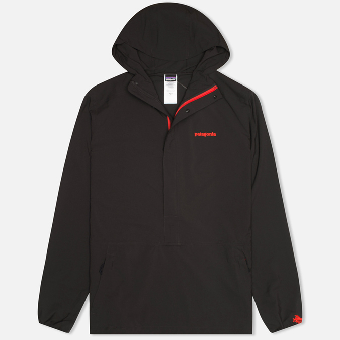 Мужская куртка анорак Patagonia Stretch Terre Planning Pullover Black