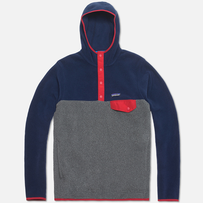Мужская толстовка Patagonia Synch Snap T Hoody Classic Navy