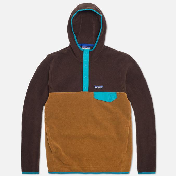 Мужская толстовка Patagonia Synch Snap T Hoody Java Brown