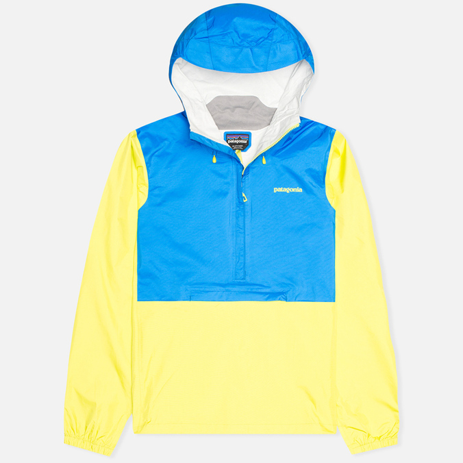 Мужская куртка анорак Patagonia Torrentshell Pullover Andes Blue