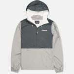 Мужская куртка анорак Patagonia Torrentshell Pullover Forge Grey фото- 0