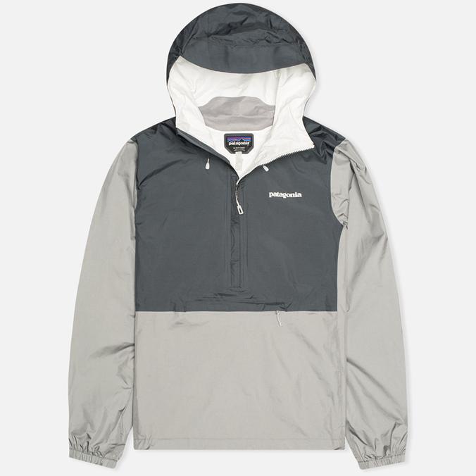 Мужская куртка анорак Patagonia Torrentshell Pullover Forge Grey