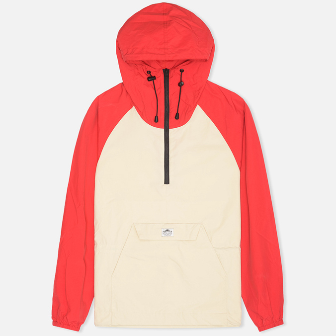 Мужская куртка анорак Penfield Pac Jac Red/Tan