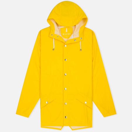 Rains Jacket Men`s Jacket Men's Rain Jacket Yellow