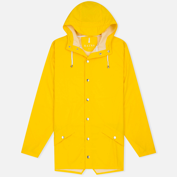 Rains Jacket Men`s Jacket Men's Rain Jacket Yellow
