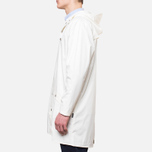 Мужская куртка Rains Long Jacket White фото- 2