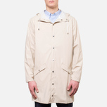 Rains Long Jacket Sand photo- 0