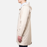 Rains Long Jacket Sand photo- 2