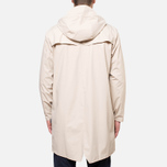 Rains Long Jacket Sand photo- 4