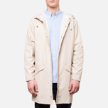 Rains Long Jacket Sand photo- 6