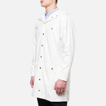 Мужская куртка Rains Long Jacket White фото- 1
