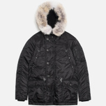 Мужская куртка Spiewak Golden Fleece Flight Satin N3B Parka Black фото- 0