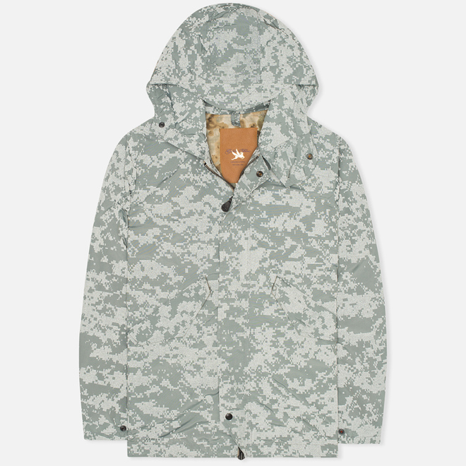 Мужская куртка Spiewak Golden Fleece Reflective Fishtail Parka Grey