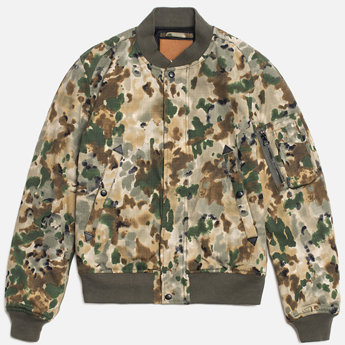 Мужская куртка Spiewak Golden Fleece Woodland MA-1 Camo
