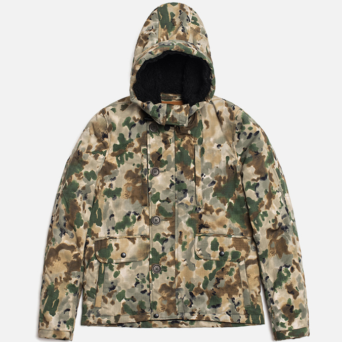 Мужская куртка Spiewak Golden Fleece Woodland Parka Camo