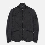 Мужская куртка бомбер Stone Island Shadow Project Field Pulver-R 3L Black фото- 0