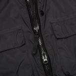 Мужская куртка бомбер Stone Island Shadow Project Field Pulver-R 3L Black фото- 3