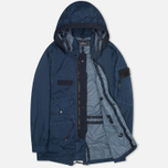 Мужская куртка парка Stone Island Shadow Project Fishtail Parka Pulver-R 3L Dark Navy фото- 1