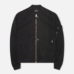 Мужская куртка Stone Island Shadow Project Hollowcore Metal Bomber Black фото- 0