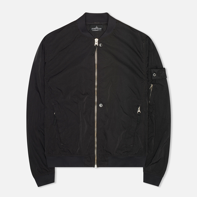 Мужская куртка Stone Island Shadow Project Hollowcore Metal Bomber Black