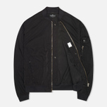 Мужская куртка Stone Island Shadow Project Hollowcore Metal Bomber Black фото- 1